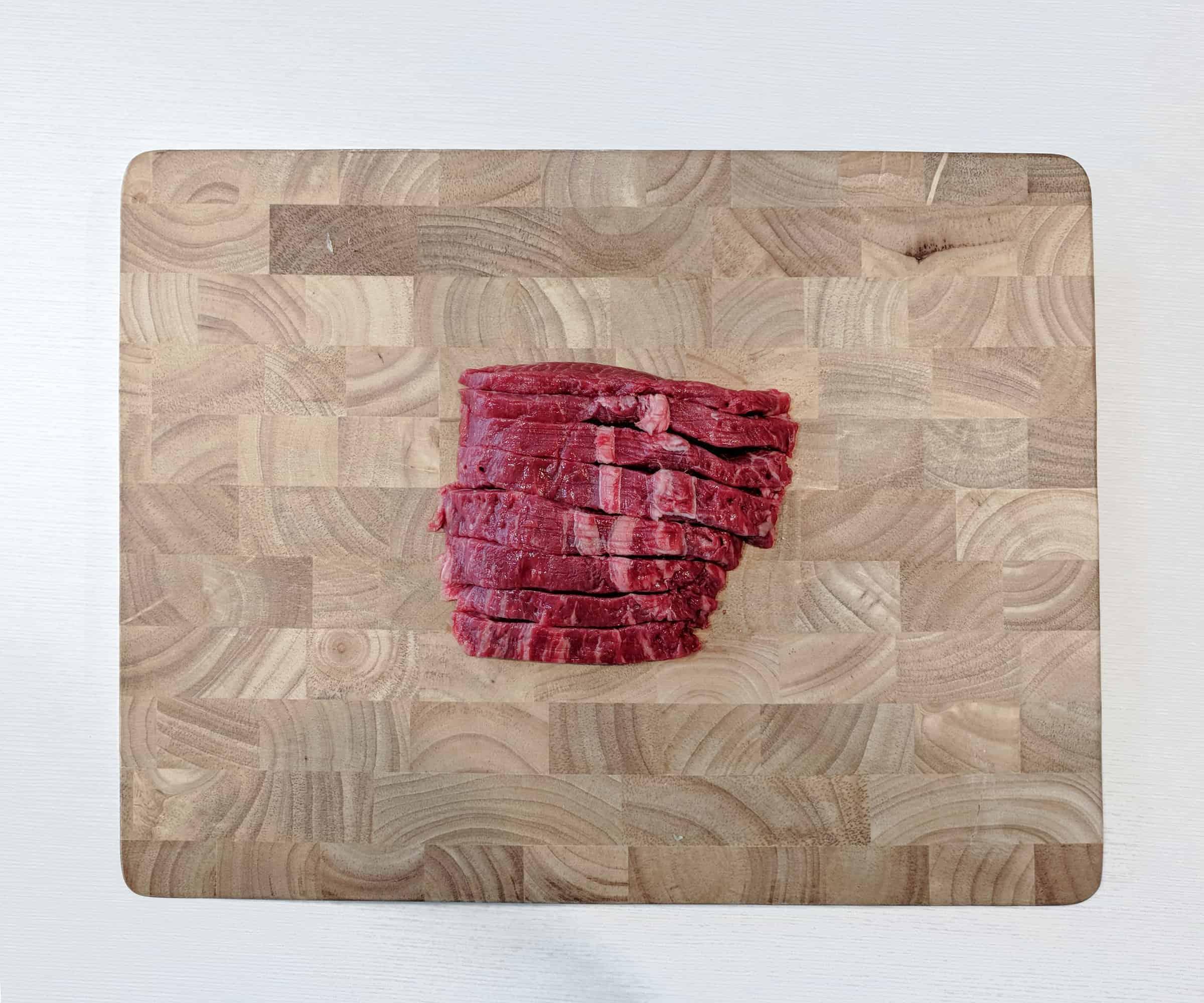 Pho Flat Iron Steak