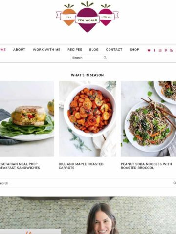 homepage screenshot of itsavegworldafterall.com